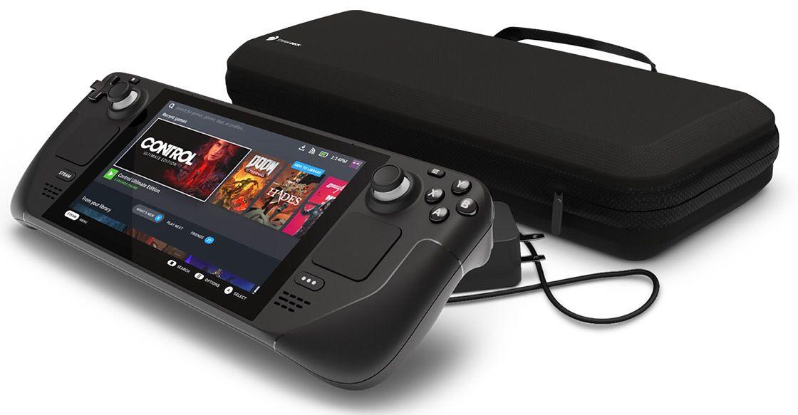 Valve zapowiada Steam Deck - przenośną konsolę o mocy stacjonarnego PC - Steam Deck