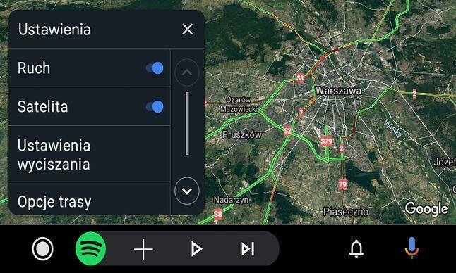 Android Auto to m.in. wygodny dostęp do Map Google i Spotify.