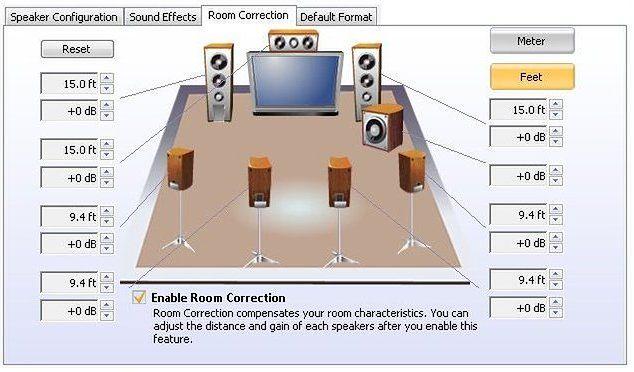 UWAGA! Ilustracja z Internetu pokazuje przydatną funkcję popularnego DSP, lecz widoczne ustawienia nie są poprawne, więc nie zapewnią wiernego odtwarzania muzyki