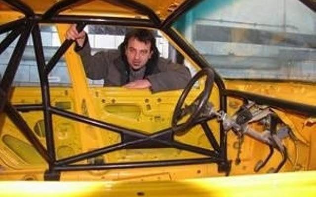 Rafał Płatek jest także pasjonatem motoryzacji.