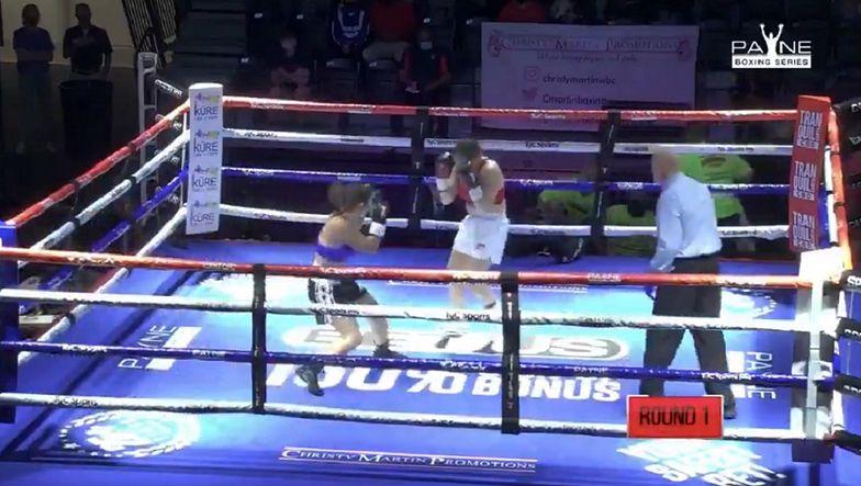 Brutalny nokaut w kobiecym boksie. Widok mrozi krew w żyłach