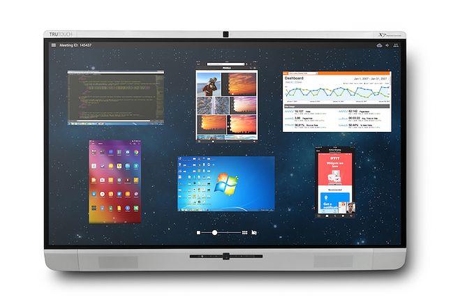 Monitor Interaktywny Newline z serii X działa pod kontrolą Androida, można z niego łączyć się z telekonferencjami przez Skype for Business i Cisco Webex. Jego możliwości rozszerzyć może oprogramowanie Montage.