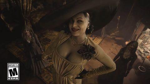 Jest kolejna rozgrywka z Resident Evil Village. Tym razem z PS4 Pro