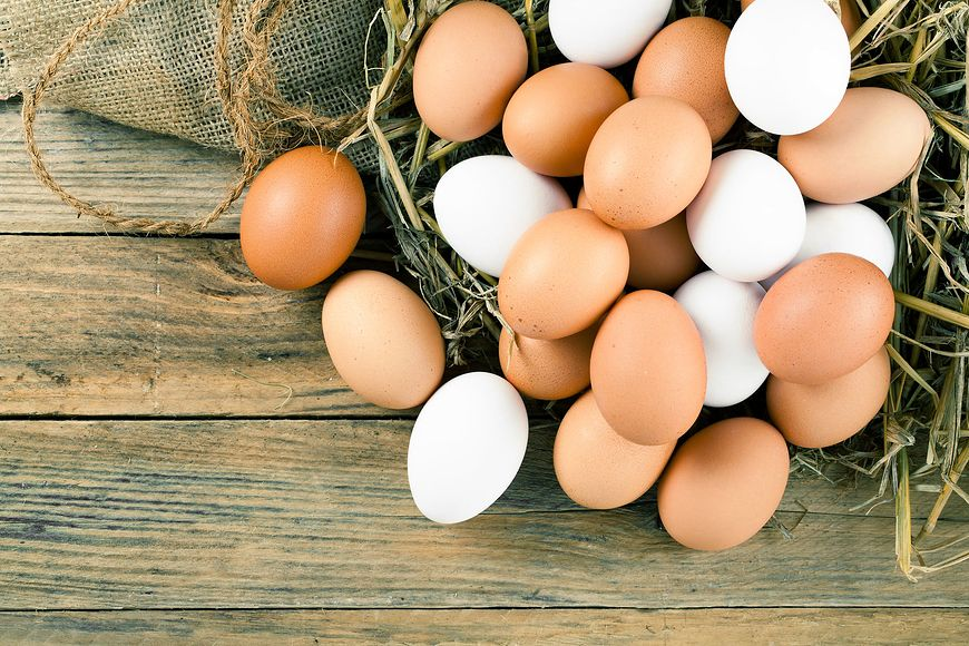 Świeże jajka są najlepsze do spożycia