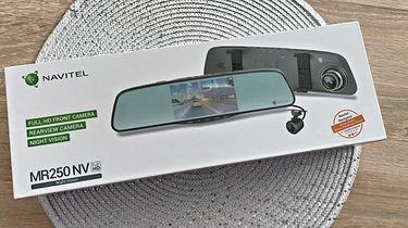 NAVITEL MR250 NV- rejestrator samochodowy w lusterku