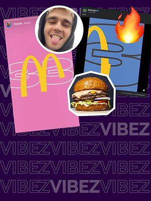 Zestaw Maty w McDonald's? TO SIĘ DZIEJE! POTRÓJNY burger i Vanilliowa Matcha Latte