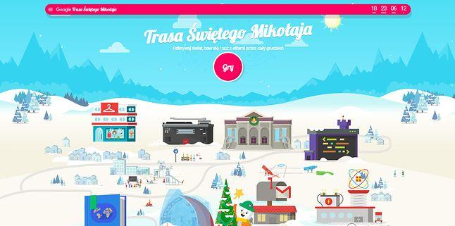 Trasa Świętego Mikołaja, czyli szereg minigier głównie dla najmłodszych.