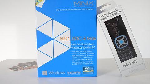 MINIX NEO J50C-4 MAX — mini komputer w sam raz do nauki zdalnej