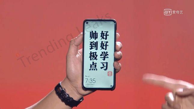 Huawei Nova 4. Źródło: trendingleaks.com