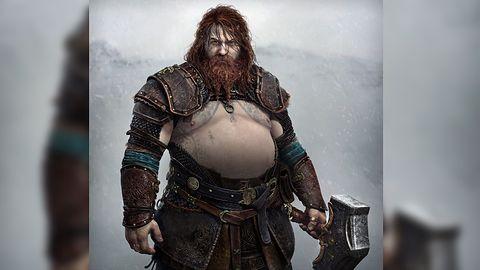 Thor w God of War: Ragnarok będzie... gruby! Internauci nie rozumieją kreacji