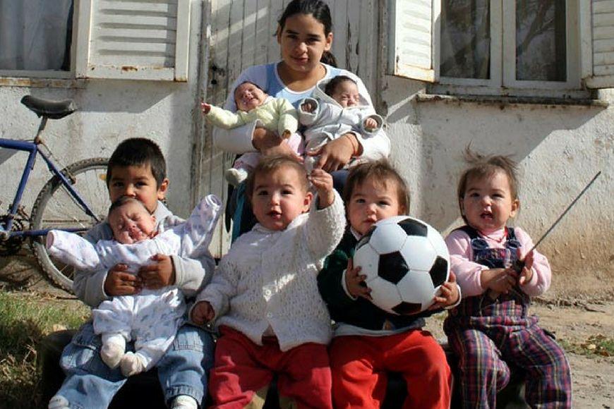Poczwórne szczęście: Cztery dziewczynki naraz!