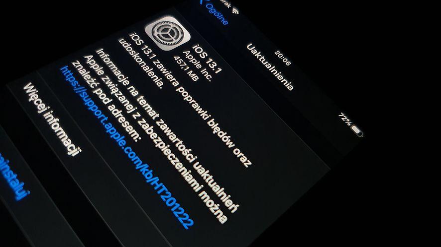 iOS 13.1 ląduje na iPhone'ach. Robi użytek z czipu Apple U1