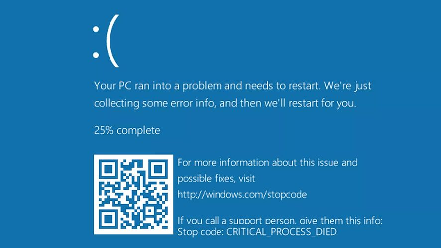 Niebieski ekran śmierci po łatce Microsoftu na procesory Intela? To wina antywirusa