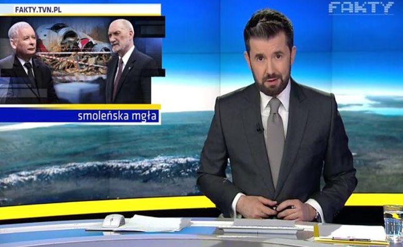 "Katastrofa smoleńska. Ogromne emocje po emisji materiału w ""Faktach"" TVN"