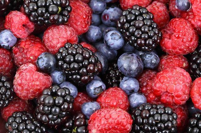 Błonnik w świeżych owocach
