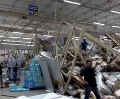 W supermarkecie zawaliły się półki. 8 osób rannych, 21-latka nie żyje