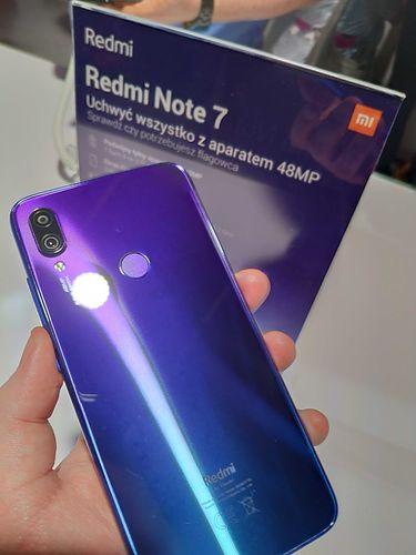 Redmo Note 7 na żywo