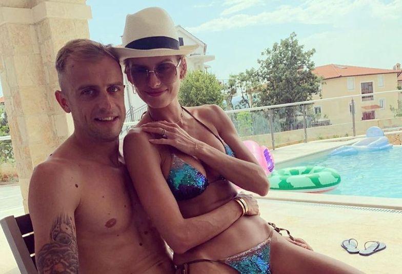 Dzień Chłopaka. Dominika Grosicka złożyła życzenia mężowi i synowi