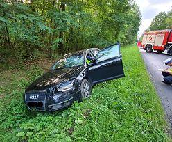 Tragiczny wypadek w Radomsku. Audi zmiotło rowerzystkę