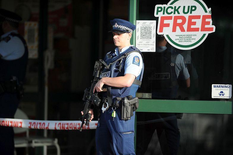 Nowa Zelandia. Horror w supermarkecie. Klientów zaatakował nożownik