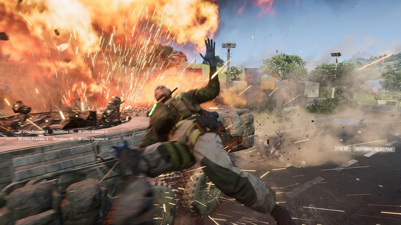 Graliśmy w Battlefield 2042. Pierwsze wrażenie jest piorunujące - Battlefield 2042