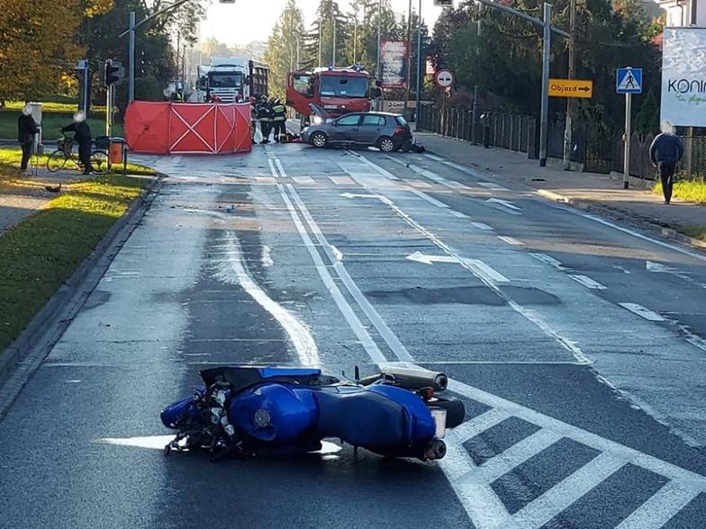 Tragiczny wypadek w Wielkopolsce. Nie żyje jego uczestnik
