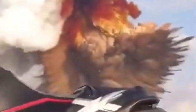 Wybuch w Bejrucie. Nagranie ze skutera wodnego