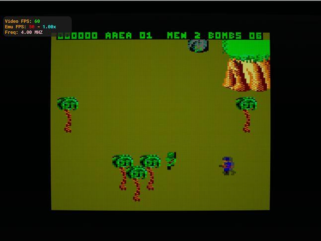 Commando Amstrad CPC 664