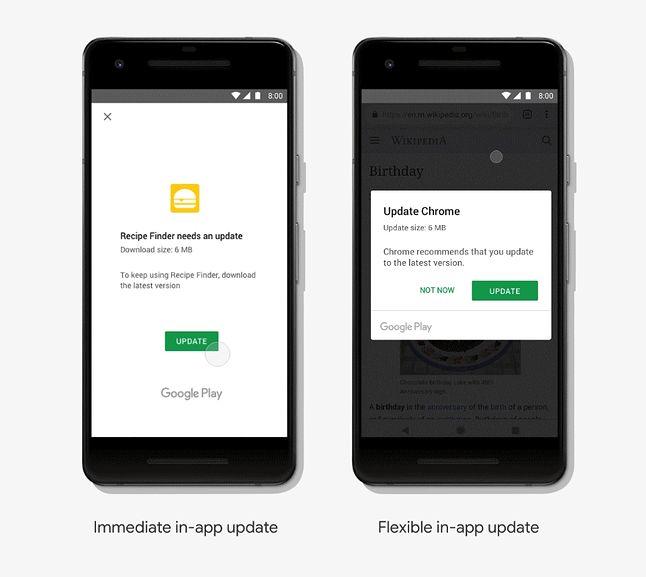 Nowe metody instalacji aktualizacji programów na Androidzie, źródło: Android Developers Blog.