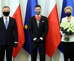 """Lewandowski odznaczony przez Dudę. """"Bohater narodowy"""""""