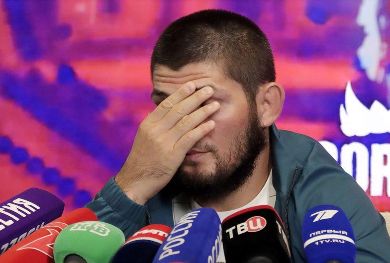 Okrutnie zażartował z gwiazdy MMA. Nurmagomiedow porządnie się wystraszył