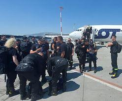 Dramat w Grecji. Polska wysłała na pomoc do Aten 143 strażaków