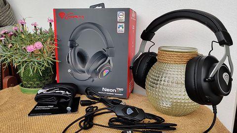 Genesis Neon 750 RGB - wygodne słuchawki wokółuszne dla graczy