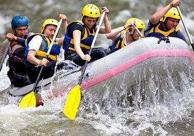 Rafting - zasady, rafting w Polsce, akcesoria, stopnie trudności