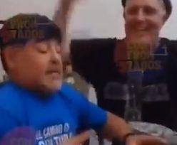 Diego Maradona przed śmiercią ostro imprezował. Opublikowano wideo
