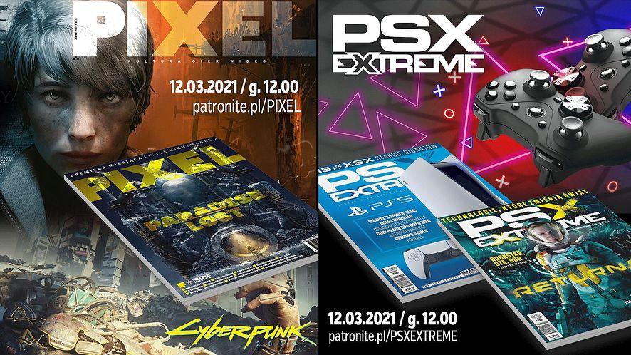 Magazyny Pixel i PSX Extreme