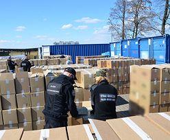 Największy w historii przemyt z Białorusi. Gangsterzy stracili 37 mln zł