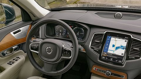 Volvo XC90: Volvo Sensus, audio Bowers & Wilkins i systemy bezpieczeństwa