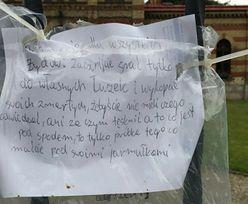 Wstrząsający list na cmentarzu żydowskim w Bielsku-Białej. Policja szuka autora