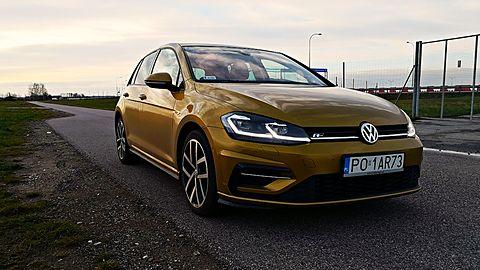 Test systemów wspomagających kierowcę w nowym Volkswagenie Golfie