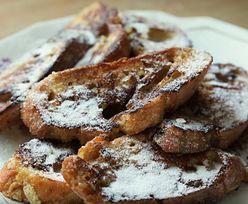 Przepis na tosty francuskie inaczej. Tak dobrych jeszcze nie jadłeś