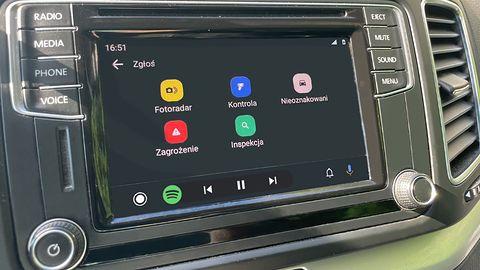 """Yanosik wkrótce w Android Auto: """"pierwsze wyniki są bardzo zadowalające"""""""