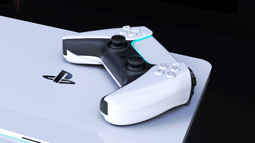 Grafika koncepcyjna PlayStation 5, fot. Concept Creator/LetsGoDigital