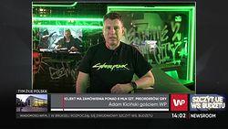 Adam Kiciński gościem WP. Przyszłość Cyberpunka 2077 i CD Projektu Red