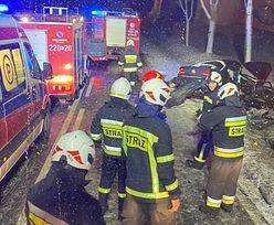 Tragiczny wypadek na Podlasiu. Nie żyją 2 osoby