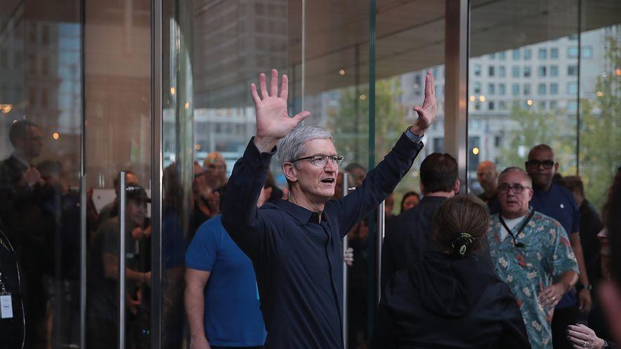 Tim Cook zdradzł, że w walce z uzależnieniem od smartfona pomaga mu iPhone (GettyImages)
