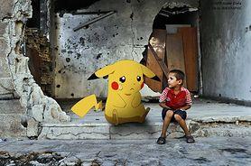 Pokemony na wojnie. Nietypowa akcja syryjskiego grafika