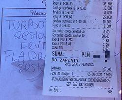 Tyle zapłacił za obiad dla dwojga nad morzem. Cena? Opadła mu szczęka