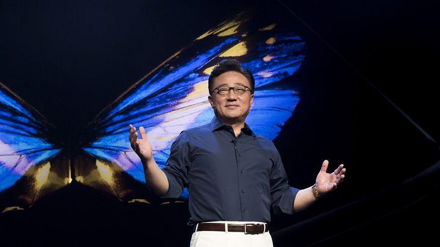 Prezes Samsunga podczas konferencji dla deweloperów, fot. Samsung