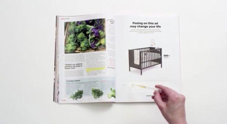 Dziwna reklama IKEI. Dotknij moczem, a dostaniesz rabat